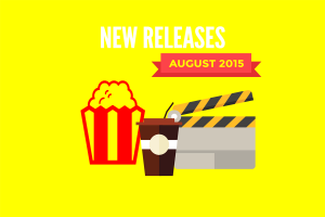 Redbox New Releases August 2015