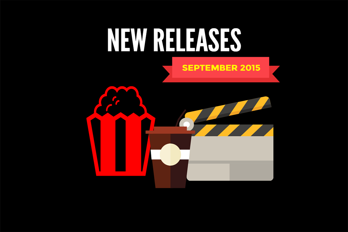 Redbox New Releases September 2015