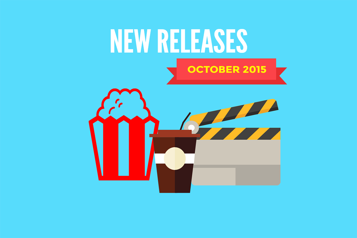 Redbox New Releases October 2015