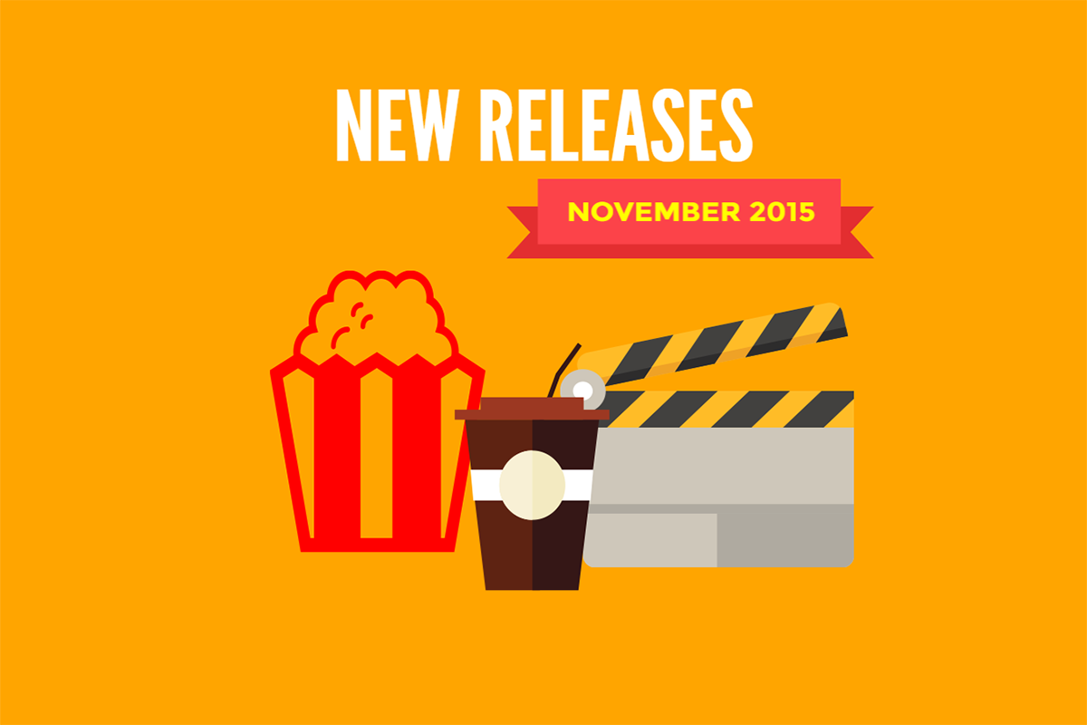 Redbox New Releases November 2015