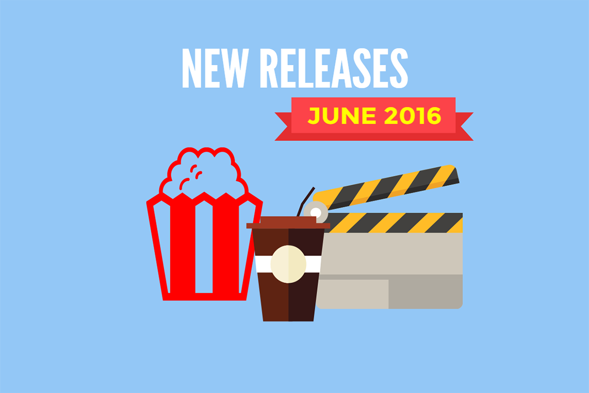 Redbox New Releases June 2016